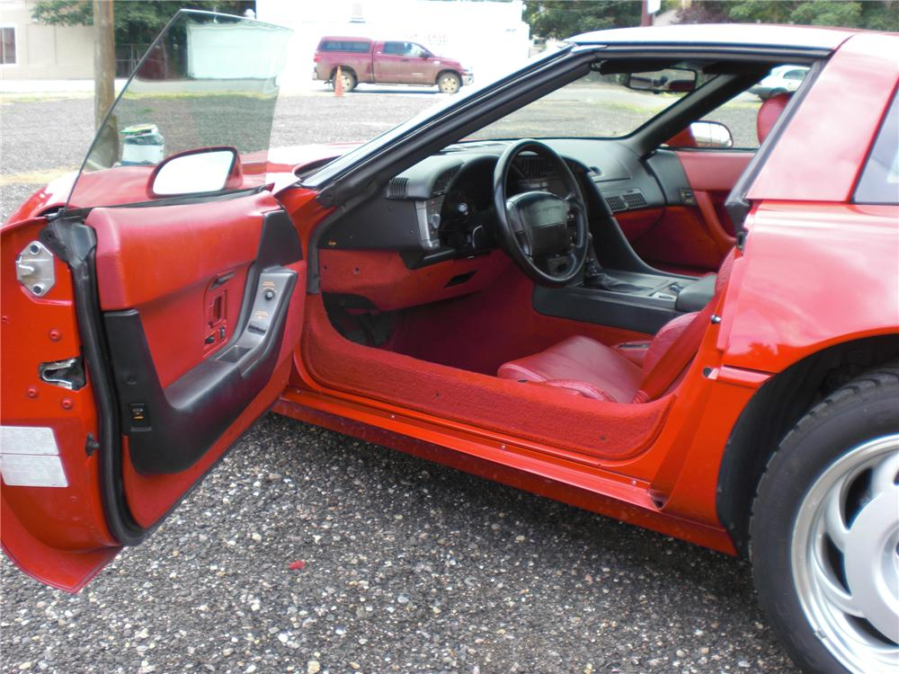 1991 CHEVROLET CORVETTE ZR-1 COUPE - Interior - 79816