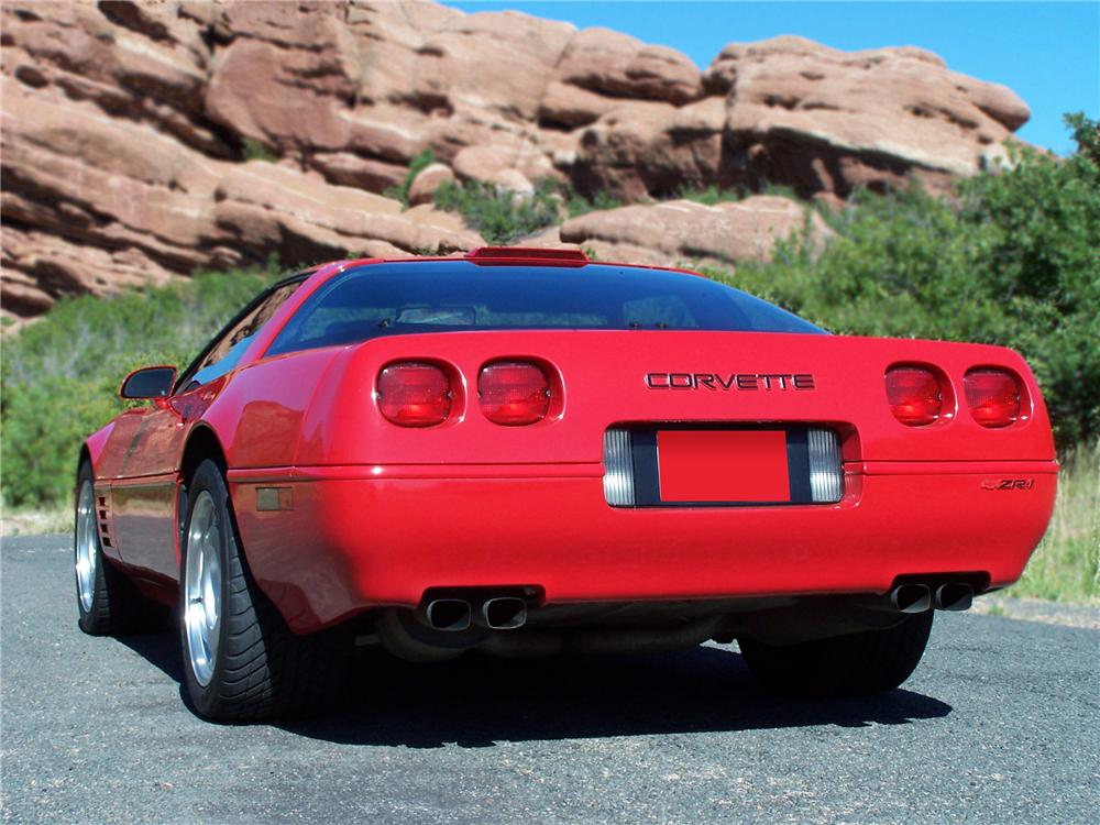 1991 CHEVROLET CORVETTE ZR-1 COUPE - Rear 3/4 - 79816