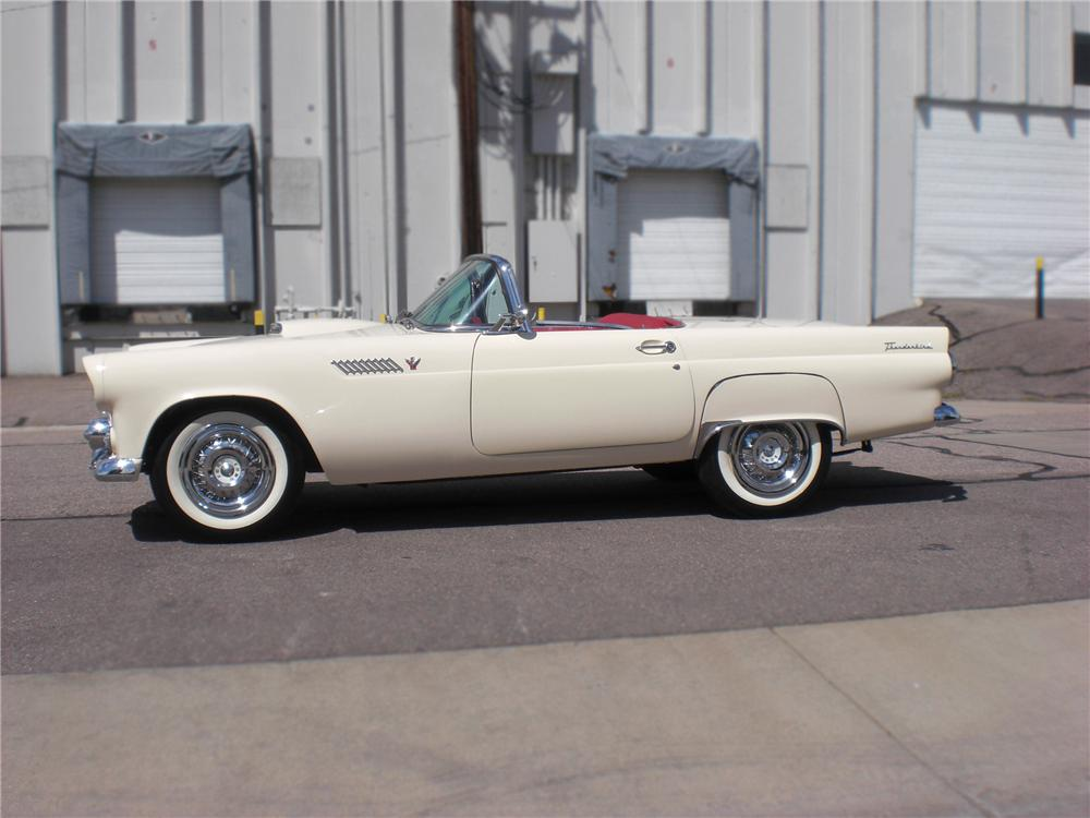 1955 FORD THUNDERBIRD CONVERTIBLE - Side Profile - 79817