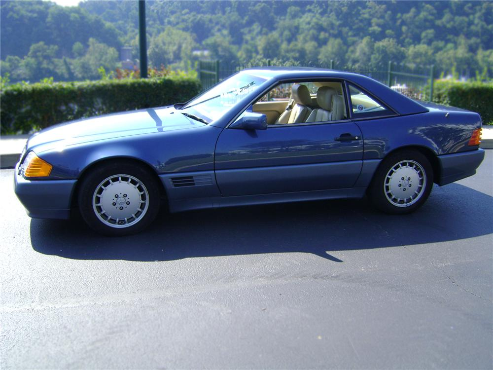 1990 MERCEDES-BENZ 300SL CONVERTIBLE - Side Profile - 79821