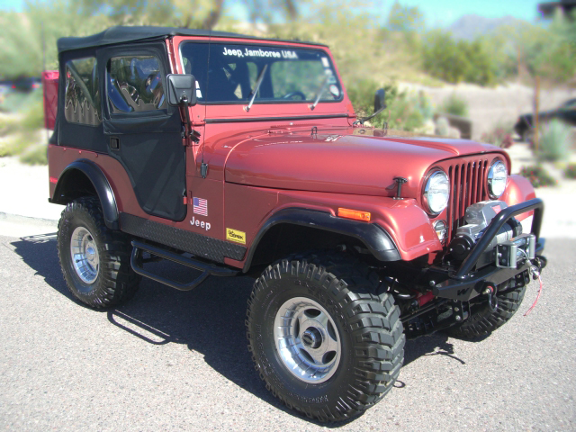 1979 JEEP CJ-5 CONVERTIBLE - Front 3/4 - 79828