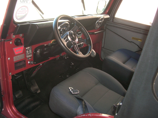 1979 JEEP CJ-5 CONVERTIBLE - Interior - 79828