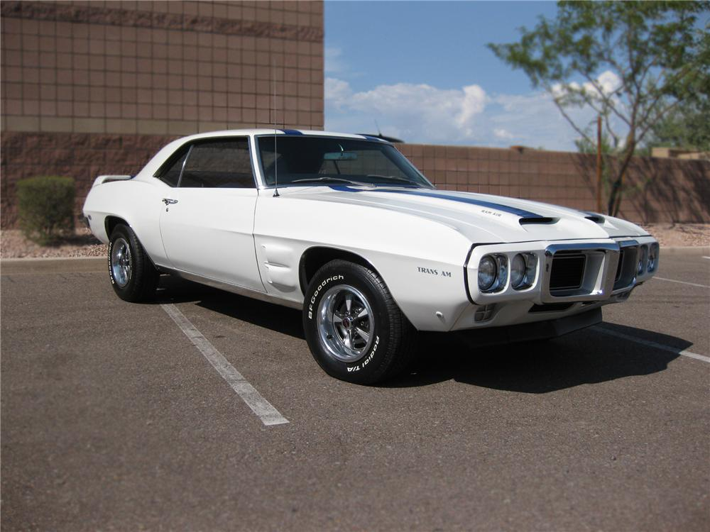 1969 PONTIAC FIREBIRD TRANS AM RE-CREATION 2 DOOR HARDTOP - Front 3/4 - 79829