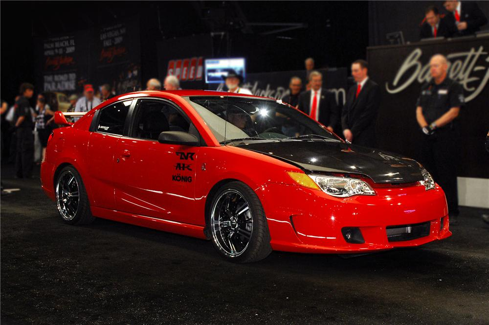 2004 SATURN ION RED LINE CUSTOM SEMA SHOW CAR - Front 3/4 - 79848