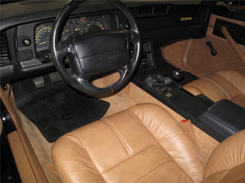 1991 CHEVROLET CAMARO Z/28 1LE COUPE - Interior - 79865
