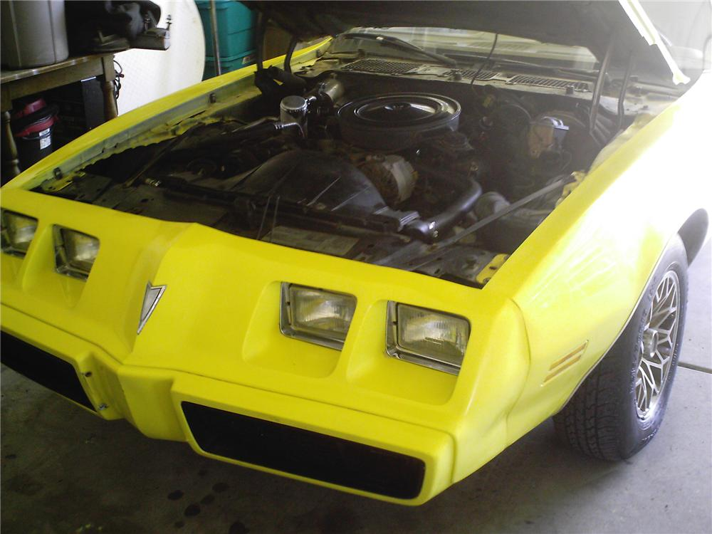 1979 PONTIAC FIREBIRD ESPRIT 2 DOOR COUPE - Engine - 79871