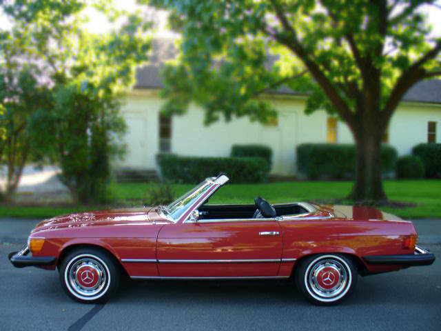 1974 MERCEDES-BENZ 450SL CONVERTIBLE - Front 3/4 - 79876