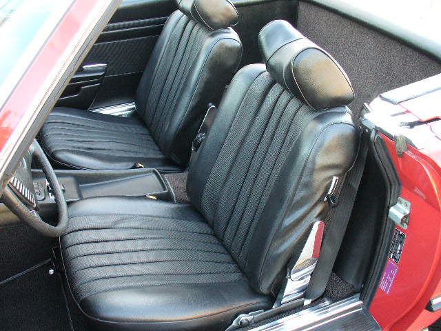 1974 MERCEDES-BENZ 450SL CONVERTIBLE - Interior - 79876