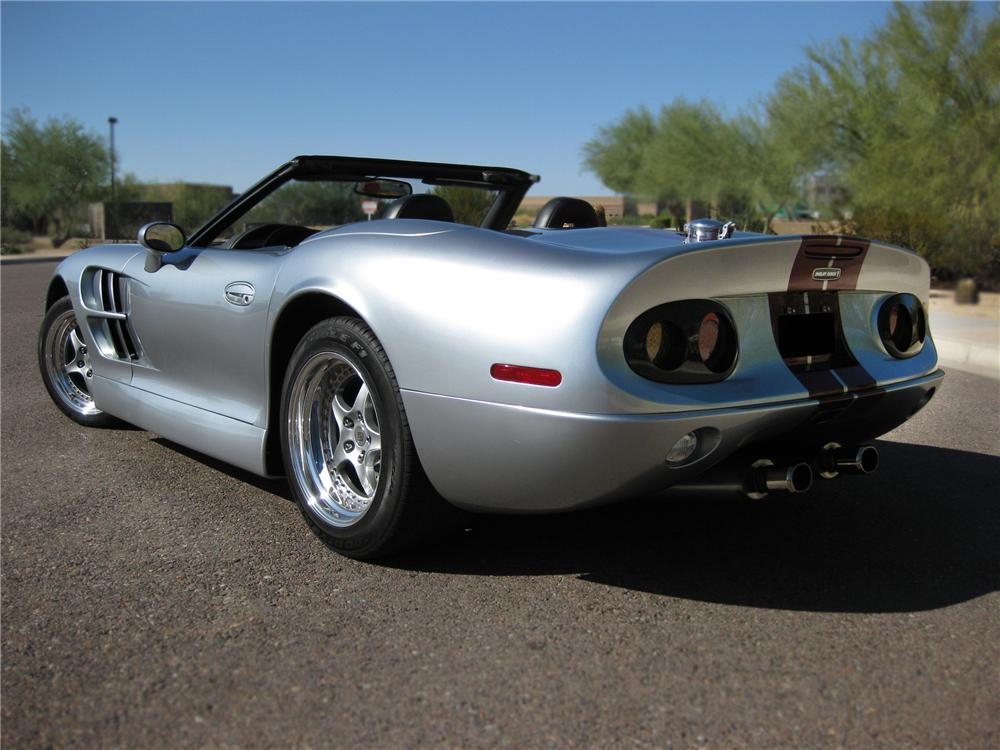 1999 SHELBY SERIES 1 2 DOOR CONVERTIBLE - Rear 3/4 - 79877