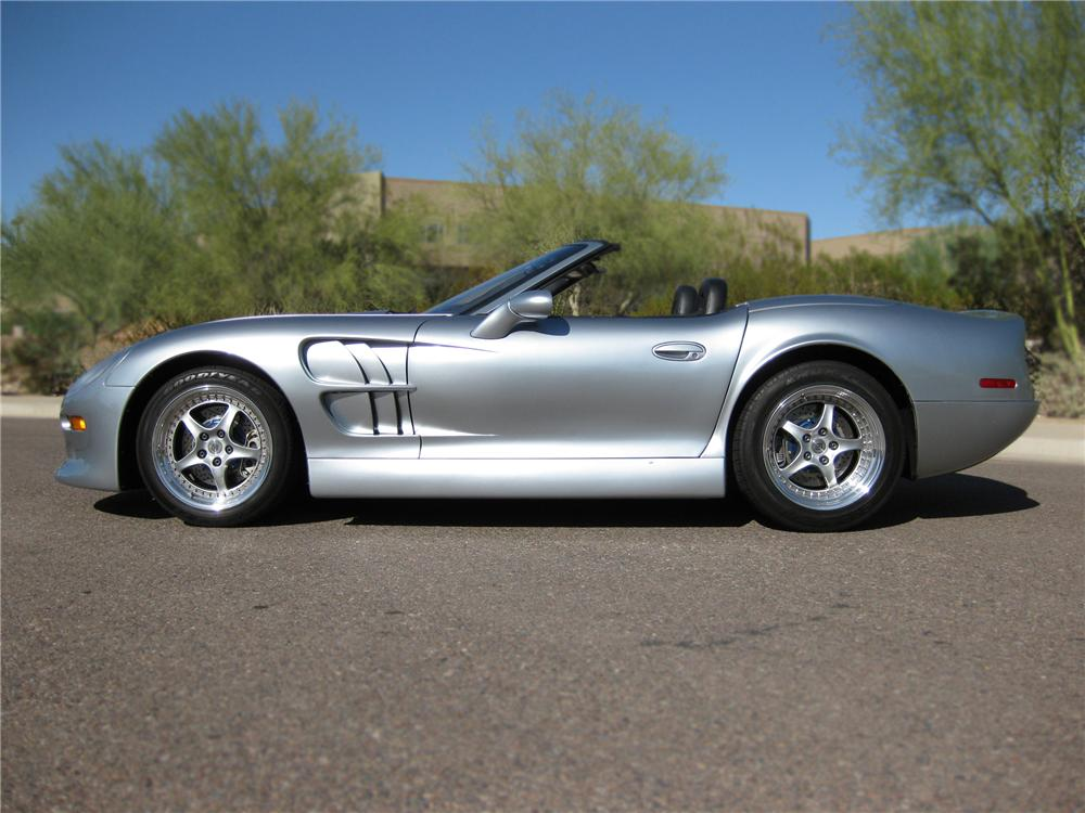 1999 SHELBY SERIES 1 2 DOOR CONVERTIBLE - Side Profile - 79877
