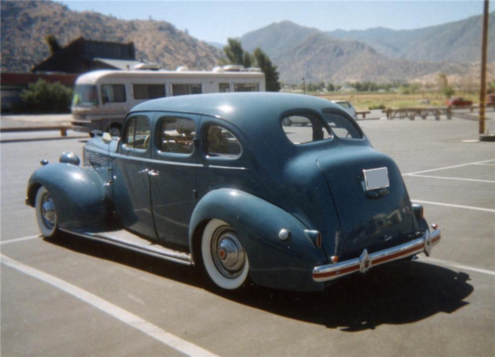 1939 PACKARD SERIES 1701 4 DOOR SEDAN - Rear 3/4 - 79878