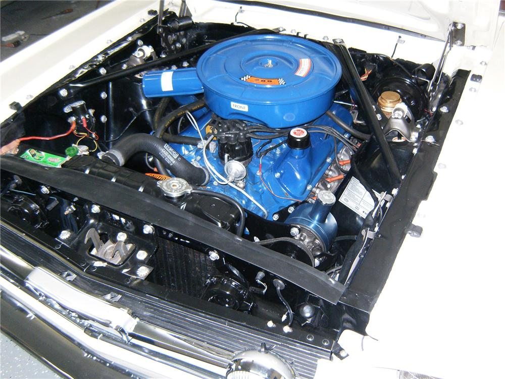 1966 FORD MUSTANG CONVERTIBLE - Engine - 79879