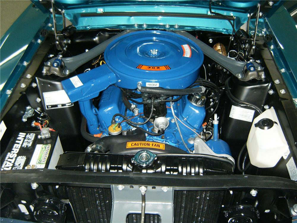 1968 FORD MUSTANG GT FASTBACK - Engine - 79880