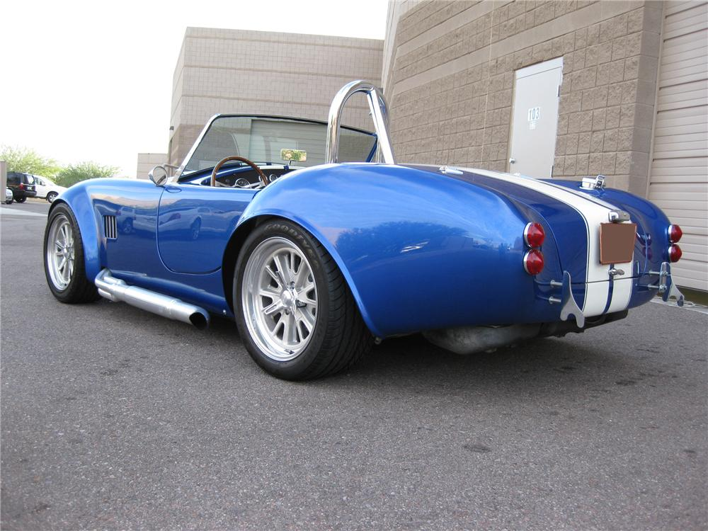 1965 SHELBY COBRA REPLICA ROADSTER - Front 3/4 - 79888