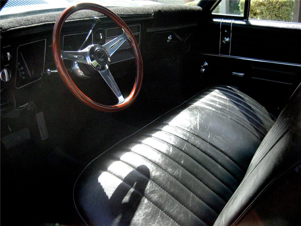 1968 CHEVROLET EL CAMINO PICKUP - Interior - 79891