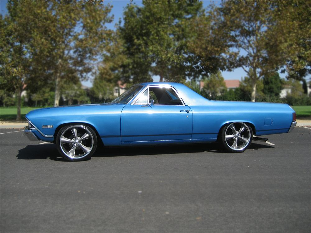 1968 CHEVROLET EL CAMINO PICKUP - Side Profile - 79891