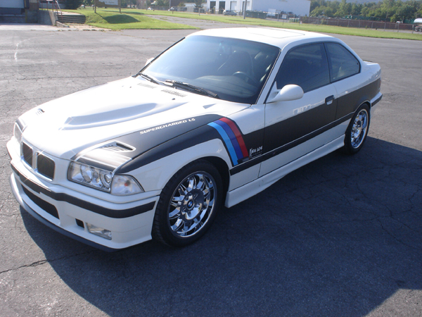 1995 BMW M3 2 DOOR COUPE - Side Profile - 79893