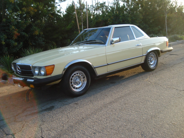 1978 MERCEDES-BENZ 450SL 2 DOOR CONVERTIBLE - Front 3/4 - 79896