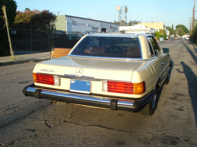 1978 MERCEDES-BENZ 450SL 2 DOOR CONVERTIBLE - Rear 3/4 - 79896