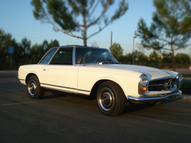 1967 MERCEDES-BENZ 230SL 2 DOOR CONVERTIBLE - Side Profile - 79898