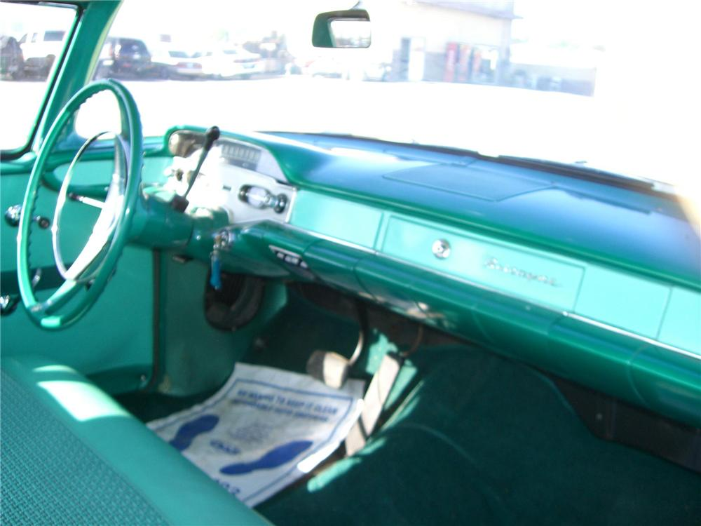 1958 CHEVROLET BISCAYNE 2 DOOR SEDAN - Interior - 79900
