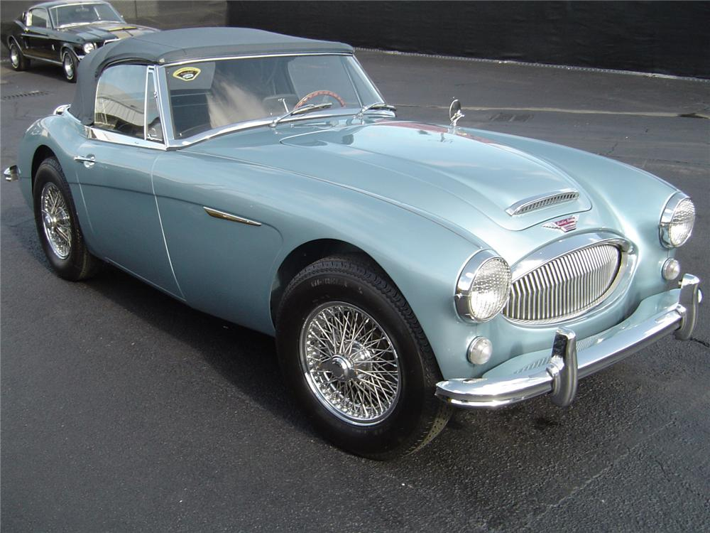 ... 1965 AUSTIN HEALEY 3000 MARK III BJ8 CONVERTIBLE   Front 3/4   80290 ...