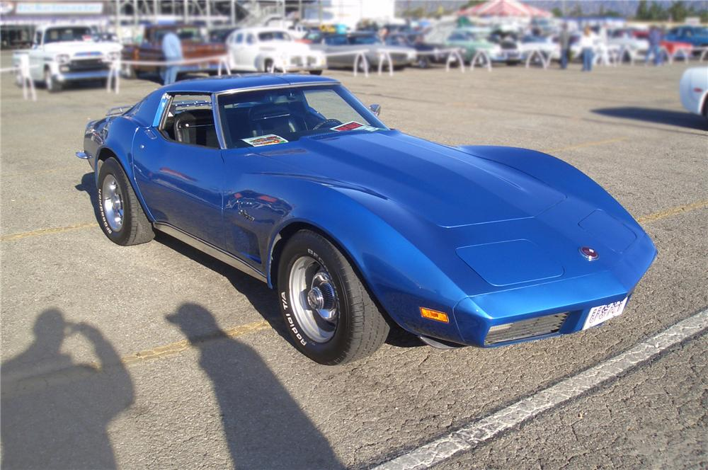 1973 CHEVROLET CORVETTE STINGRAY T-TOP - Front 3/4 - 80455