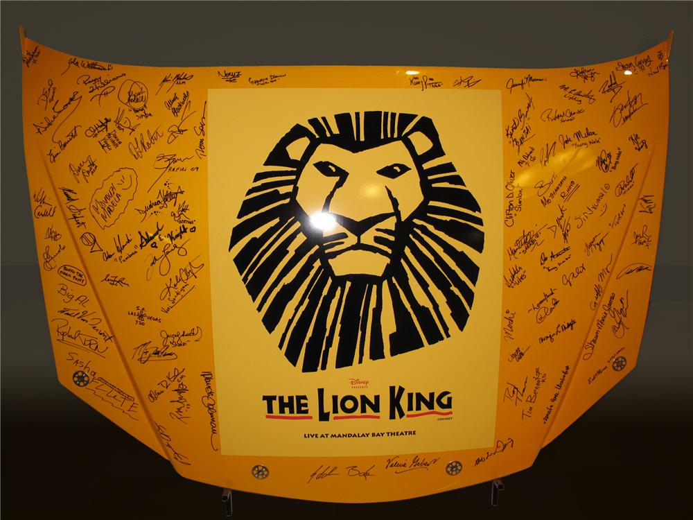 2009 NASCAR CAR HOODS LION KING - Front 3/4 - 80740