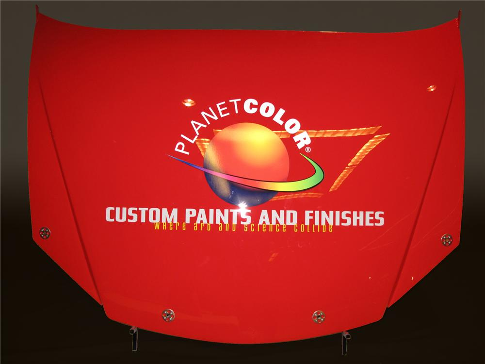 2009 NASCAR CAR HOODS PLANET COLOR - Front 3/4 - 80743