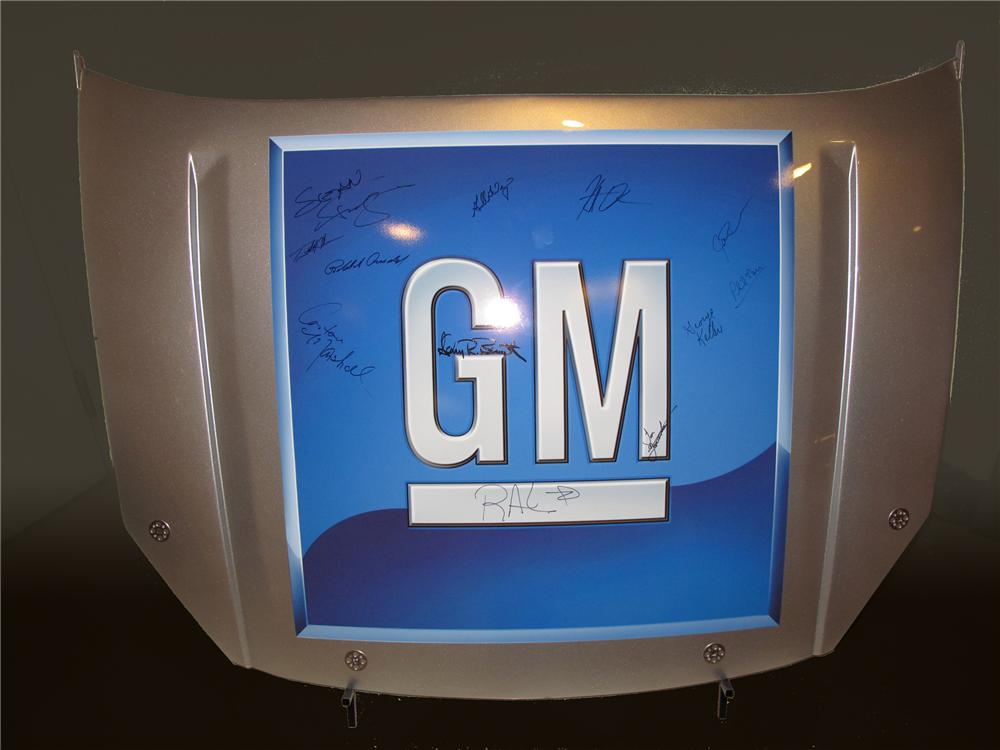 2009 NASCAR CAR HOODS GM - Front 3/4 - 80749