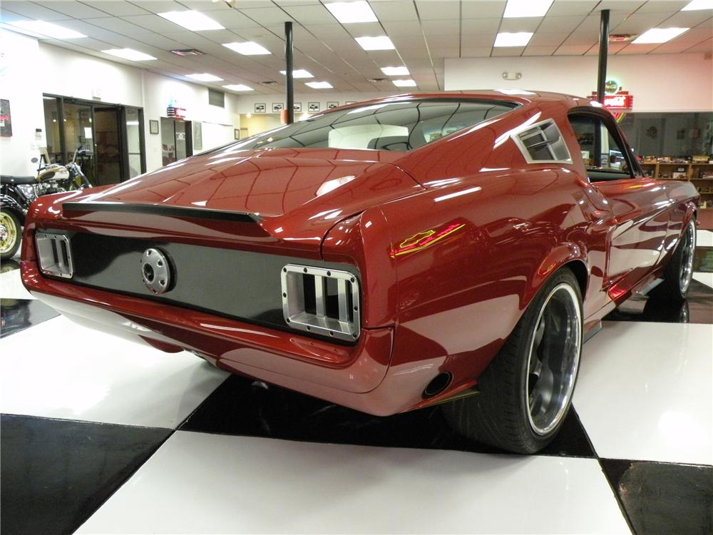 1967 FORD MUSTANG FASTBACK - Rear 3/4 - 80895