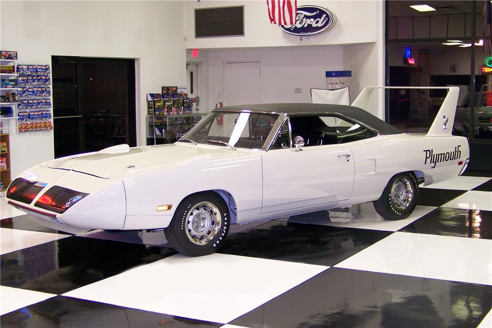1970 PLYMOUTH HEMI SUPERBIRD 2 DOOR HARDTOP - Side Profile - 80896