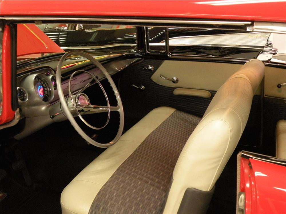 1957 CHEVROLET 210 2 DOOR HARDTOP - Interior - 80897