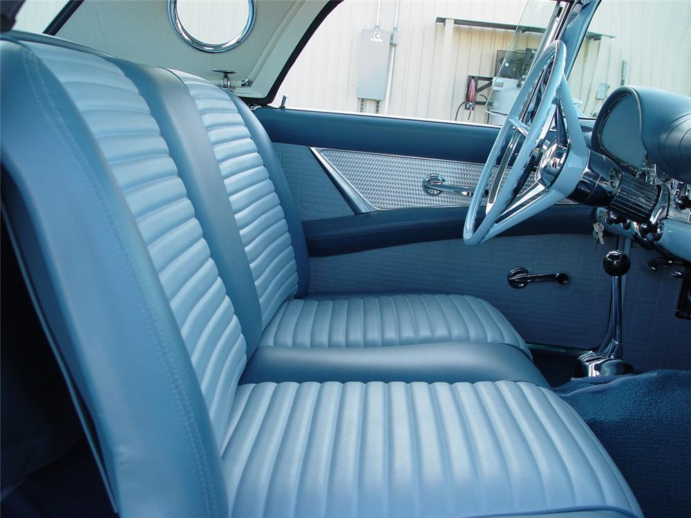 1957 FORD THUNDERBIRD CONVERTIBLE - Interior - 80904