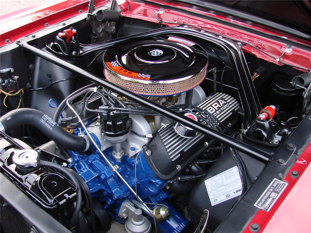 1966 SHELBY GT350 FASTBACK - Engine - 80909