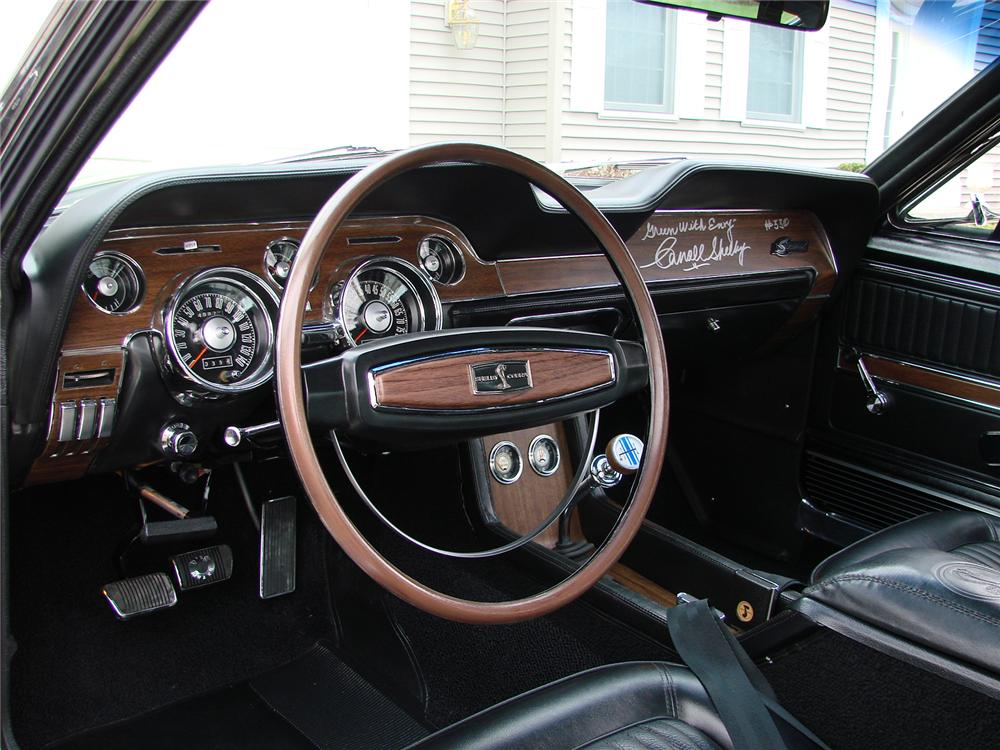 1968 SHELBY GT350 FASTBACK - Interior - 80911