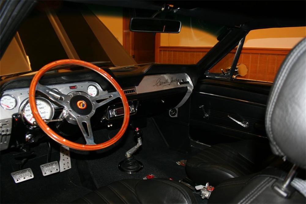 1967 SHELBY GT500E FASTBACK - Interior - 80915