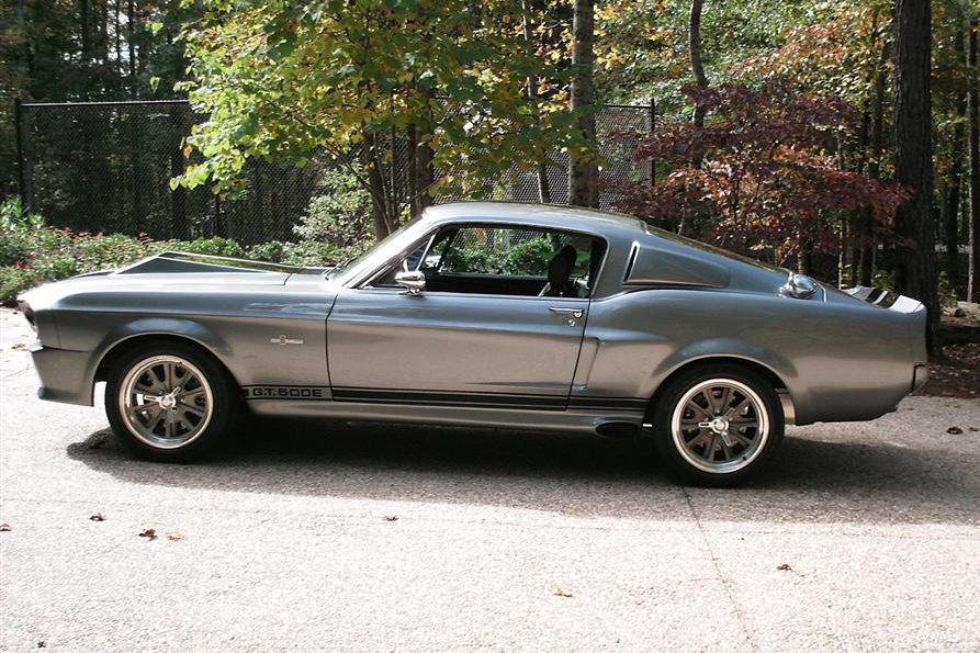 1967 SHELBY GT500E FASTBACK - Side Profile - 80915