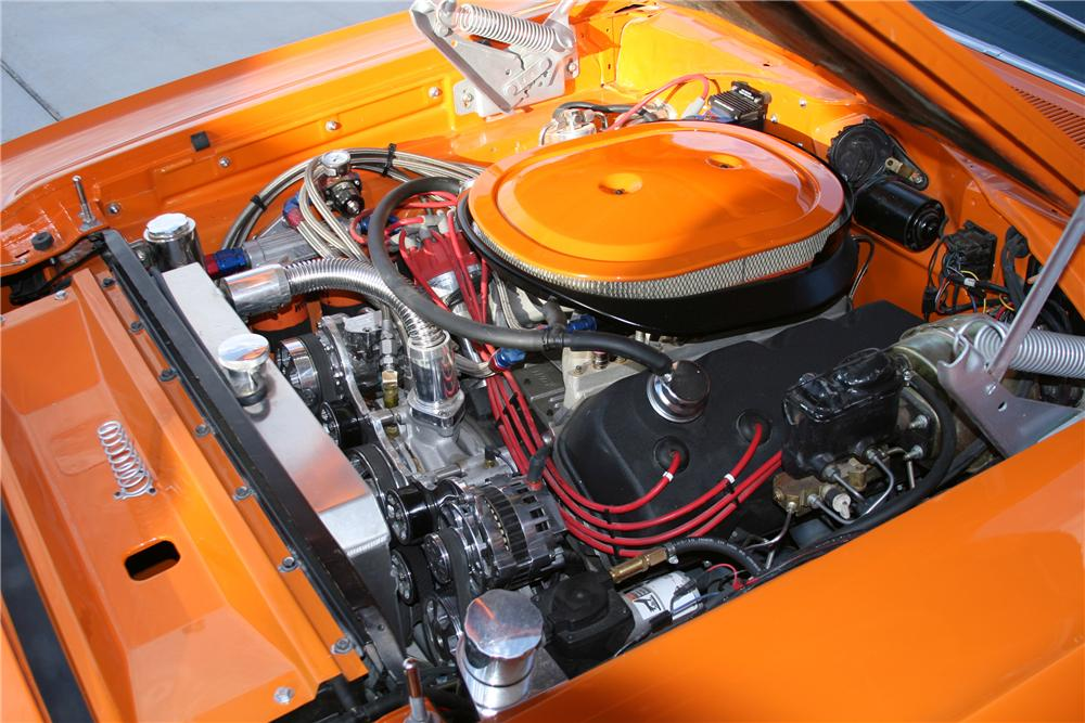 1970 PLYMOUTH HEMI SUPERBIRD CUSTOM COUPE - Engine - 80918