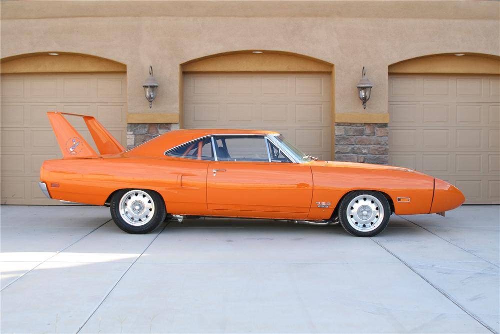 1970 PLYMOUTH HEMI SUPERBIRD CUSTOM COUPE - Side Profile - 80918