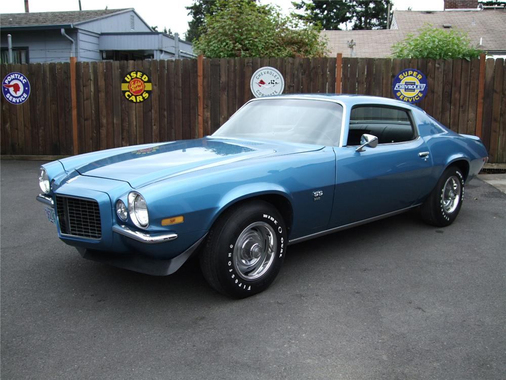 1970 CHEVROLET CAMARO RS/SS COUPE - Front 3/4 - 80923