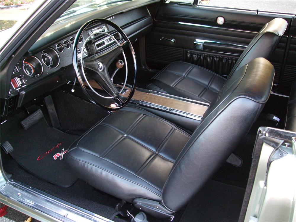 1969 Dodge Charger Red Interior 1969 Dodge Charger R/t 2 Door