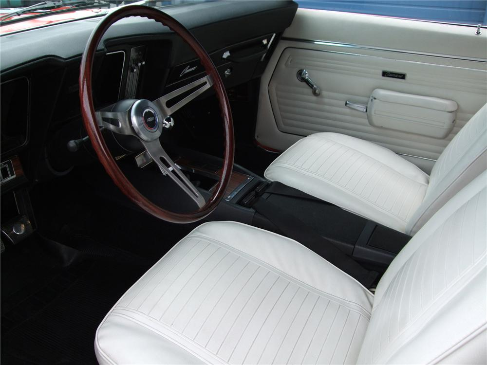 1969 CHEVROLET CAMARO SS CONVERTIBLE - Interior - 80926
