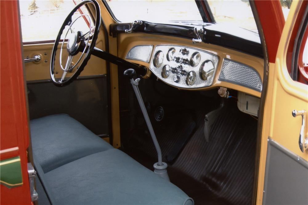 1938 DIAMOND T 201 PICKUP - Interior - 80933