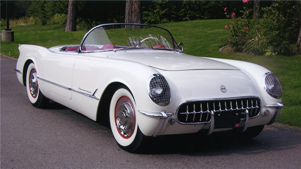 1954 CHEVROLET CORVETTE CONVERTIBLE - Front 3/4 - 80934