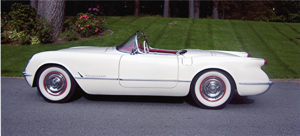 1954 CHEVROLET CORVETTE CONVERTIBLE - Side Profile - 80934