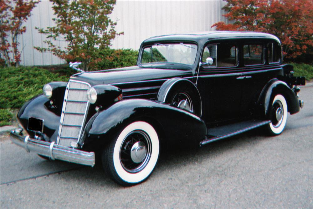 1935 Cadillac Series 10 4 Door Sedan 80945