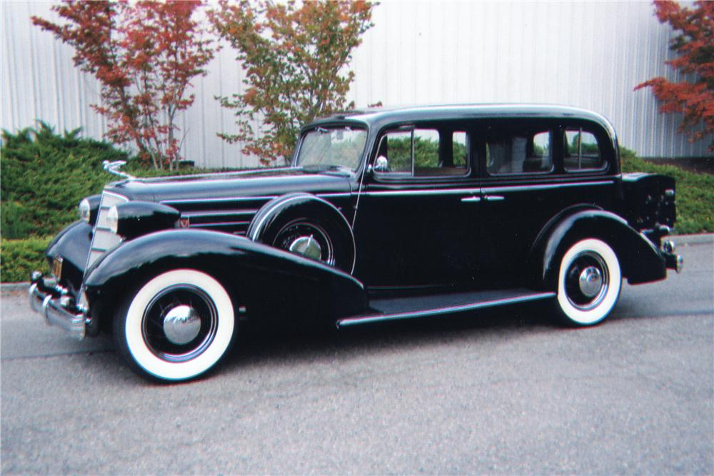 1935 CADILLAC SERIES 10 4 DOOR SEDAN - Side Profile - 80945