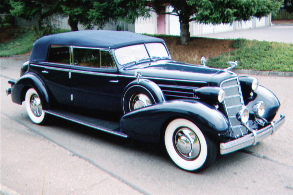 1935 CADILLAC SERIES 40 FLEETWOOD IMPERIAL CONVERTIBLE - 80949