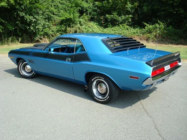 1970 DODGE CHALLENGER T/A 2 DOOR HARDTOP - Rear 3/4 - 80954